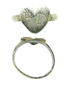 16th 17th Century Renaissance Tudor Period Sweetheart Wedding Ring R D Initial