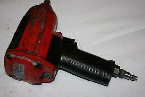 Snap on Tools 1 2 Drive Magnesium Impact Air Wrench Mg725