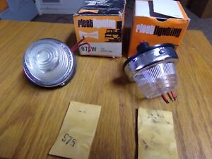 Yankee Clear Running Turn Signal New In The Org Box 2 Wire Dual Element Bulb
