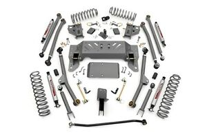 Rough Country 4 Suspension Lift Long Arm Kit Fits Jeep Zj Grand Cherokee 93 98