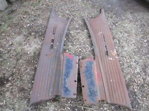 1941 46 Chevrolet Truck Running Boards