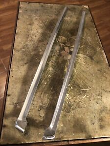 1977 Ford Mustang Windshield Trim Mouldings Right And Left Sides