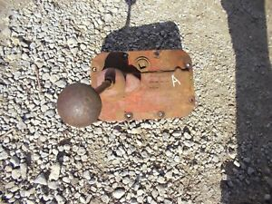 Farmall A Tractor Original Ihc Transmission Gear Shift Shifter Tower Steel Knob