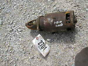 Farmall H Hv Mv M Tractor Good Working 6v Starter