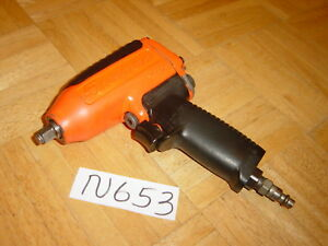 Snap on Tools 3 8 Drive Orange Air Impact Wrench Mg325 Reversable Unit