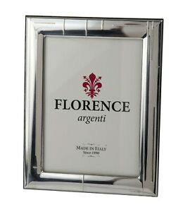 Silver Sheet Photo Picture Frame Handmade 1005 9 13 Gb New