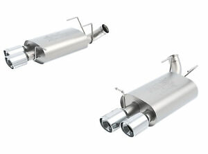 Borla Dual Split Atak Exhaust Rear Section For 13 14 Ford Mustang Shelby Gt500