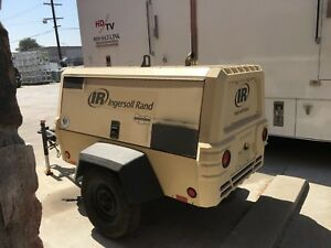 Ingersoll Rand 185 Towable Air Compressor 2010