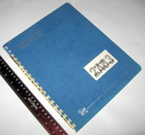 Vintage Tektronix Type 2a63 Differential Amplifier Instruction Manual