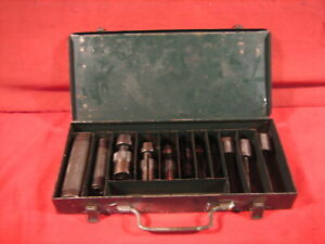 Rare Vintage Hozan Tools Blind Hole Bearing Puller Set No 1100 W slide Hammer