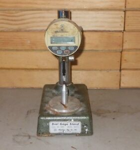 Mitutoyo 7003 Dial Indicator Stand With Digimatic Gage