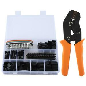 Portable Wire Crimper Crimping Pliers Dupont Terminal Connector Durable Tool Set