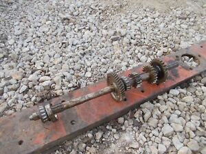Allis Chalmers G Tractor Ac Top Upper Transmission Drive Gears Input Shaft Ck