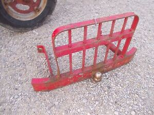 Ford 8n 9n 2n Tractor Front Grill Tall Guard Bumper Hitch Ready To Use