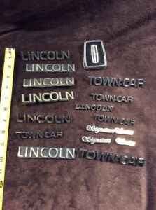 Lincoln Emblem Lot Key Hole Cover Town Ford Motor Company