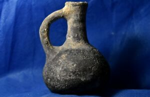 Iron Age Ii Judaea Israel Kingdom Black Juglet 9 8 Century Bc Ancient Judea