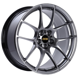 Bbs Rf 18x9 5x100 Et45 Diamond Black Wheel Rim 70mm