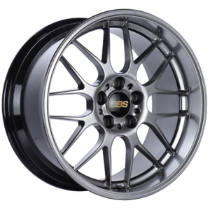 Bbs Rg r 18x8 5 5x120 Et13 Diamond Black Wheel Rim 82mm