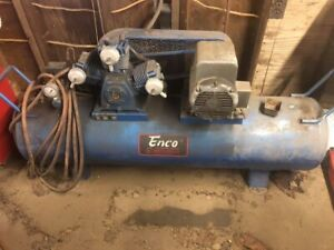Enco Single Phase 60 Gallon Air Compressor