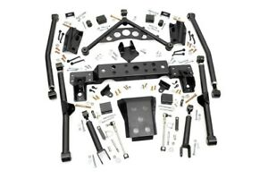 Rough Country 4 Long Arm Suspension Upgrade Kit Jeep Wj Grand Cherokee 99 04