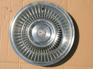 1963 1964 Cadillac 15 Hubcap minor Imperfections but Pretty Decent Condition