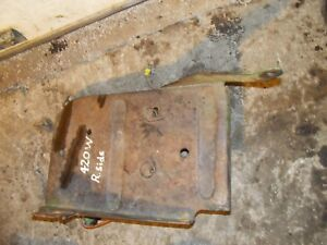 John Deere 420 W Tractor Jd Right Side Platform Step Foot Bracket