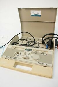 Welch Allyn Am 232 Manual Screening Audiometer Telephonics Tdh 39p Headphones 2
