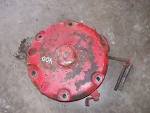 Farmall 400 450 Tractor Disc Brake Assembly W Good Outer Cover Housing Tractor