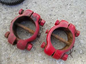 Farmall A Sa Tractor Ih Adjustable Wide Frontend Widefront End Collars