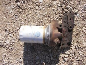 Farmall 560 Rc Tractor Ih Engine Motor Aftermrk Oil Filter Canister Holder M