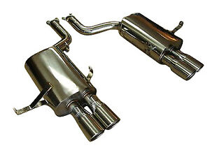 Bmw E39 M5 V8 00 03 Top Speed Pro1 Rear Section Performance Exhaust Systems