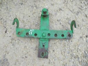 John Deere M Mt Tractor Jd Hitch Special Drawbar Jd Rear