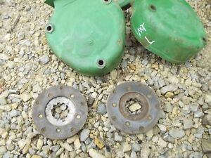 John Deere Mt Tractor Jd Pair Set Disk Disc Brake Brakes Covers
