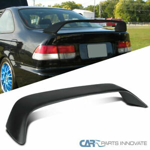 For Honda 96 00 Civic 2dr Em T R Style Rear Spoiler Trunk Wing W Led Brake