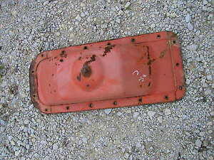 Allis Chalmers C Tractor Engine Motor Oil Pan With Drain Plug