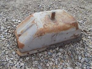 Allis Chalmers Wd45 Wd 45 Tractor Gleaner Combine Engine Motor Oil Pan