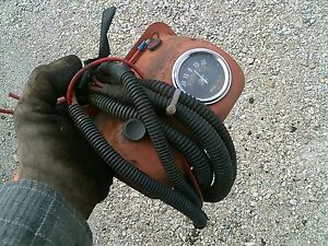 Allis Chalmers Ac Wd Wd45 Tractor Ac 6v Amp Box W Gauge Wire Harness