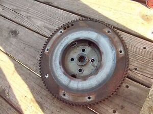 Ac Allis Chalmers C Tractor Engine Motor Flywheel W Good Starter Ring Gear