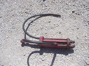 Farmall 450 560 Rc Tractor Ih Main Lift Cylinder 2pt Fasthitch Fast Hitch Hose