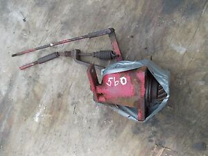 Farmall 560 Gas Tractor Orgl Ih Good Working Governor Assembly Cover Linkage