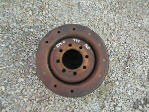 Farmall 560 450 400 460 Tractor Ih Paper Belt Pulley 10 1 2 x 9 3 4