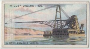 Dredge Vessel For Building Up River Canal Banks 85 Y o Trade Ad Card