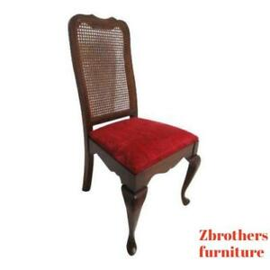 Vintage Pennsylvania House Solid Cherry Queen Ann Dining Room Side Desk Chair