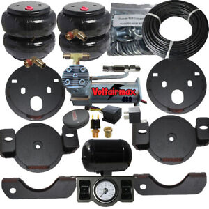 2001 10 Chevy 2500 Towing Assist Over Load Air Bag Suspension Lift Kit As Shown