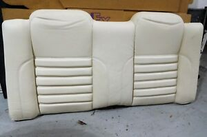 1994 Jaguar Xjs Convertible Rear Seat Backrest In Cream Ndr Leather New