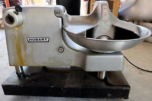 Hobart Model 84186 Buffalo Chopper Cutter Bowl Single Phase 115v Works