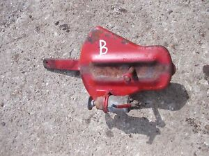 Farmall Ih B Bn Tractor Throttle Control Assembly Lever Ignition Switch