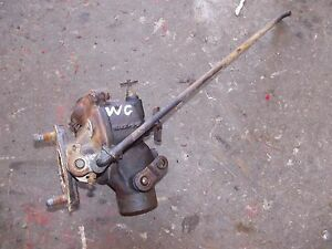 Allis Chalmers Wc Ac Tractor Engine Motor Zenith Carburetor Assembly