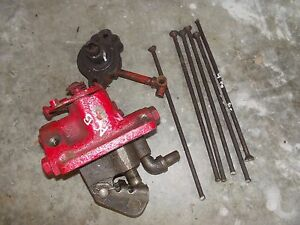 Allis Chalmers B C Tractor Ac Engine Motor Oil Pump Assembly Hydraulic Pump