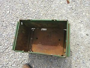 John Deere 520 530 620 630 Tractor Deluxe Jd Battery Box Under Th